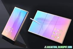 Galaxy X disebut-sebut sebagai smartphone layar lipat pertama Samsung
