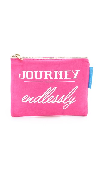 Journey Endlessly Travel Pouch