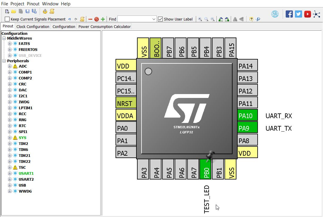 A Simple STM32 Example Project