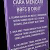 CARA BBFS DAN CARA MENCARI ANGKA BBFS REFERAL RANGGATRADER