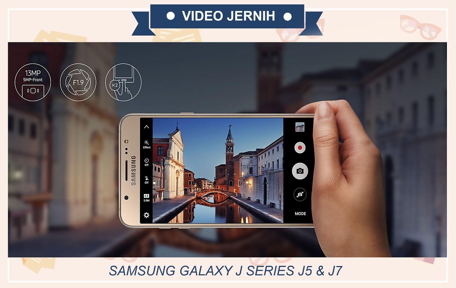 review samsung galxy j series kamera