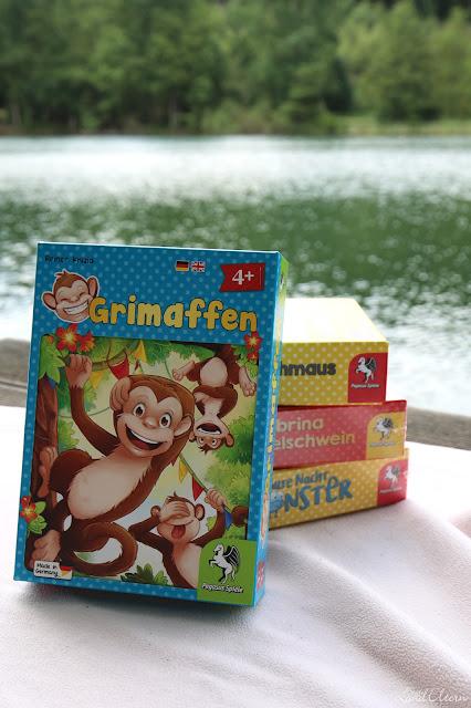Pegasus Spiele - Kinderspiele für unterwegs - Grimaffen