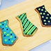 Fathers Dad Neck Tie Royal Icing Cookies