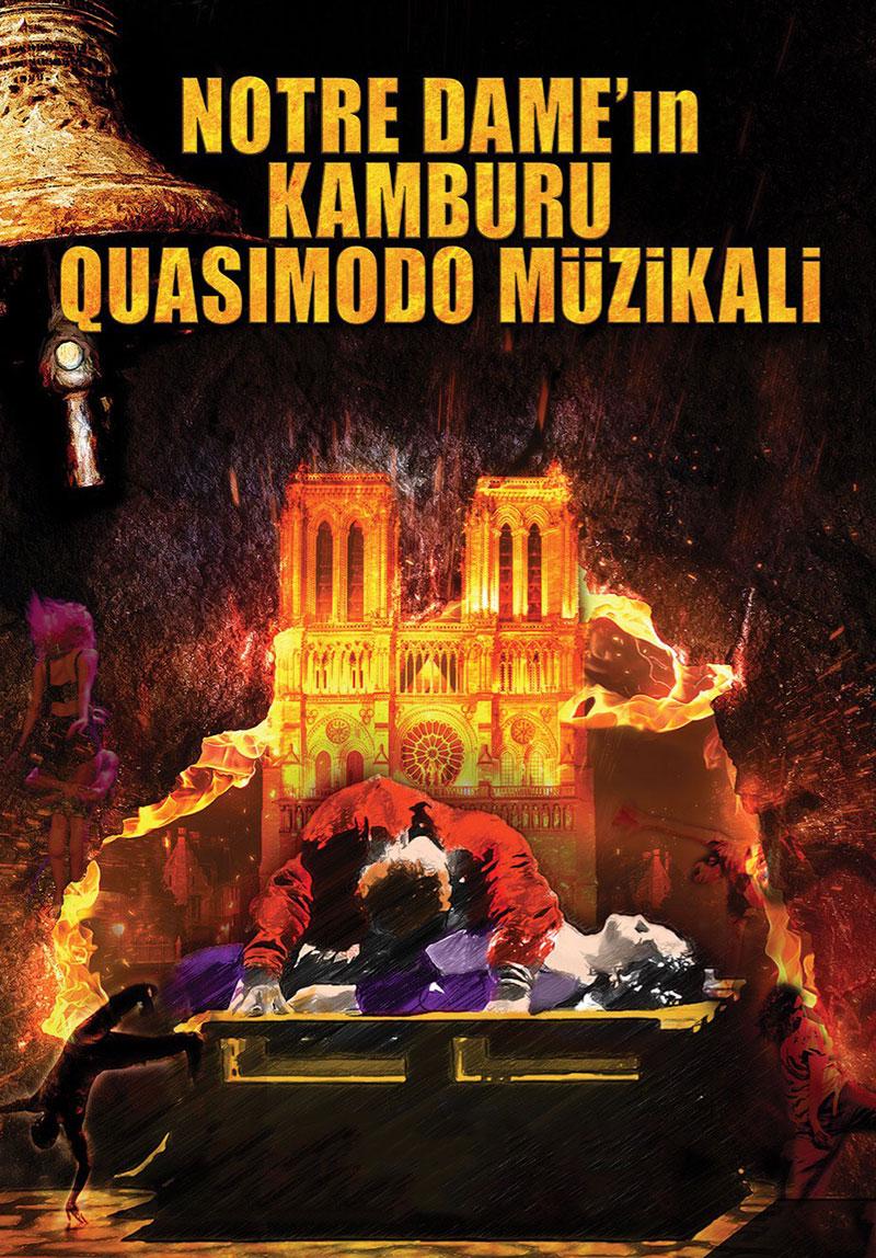 Notre Dame - Quasimodo müzikali ile ilgili görsel sonucu