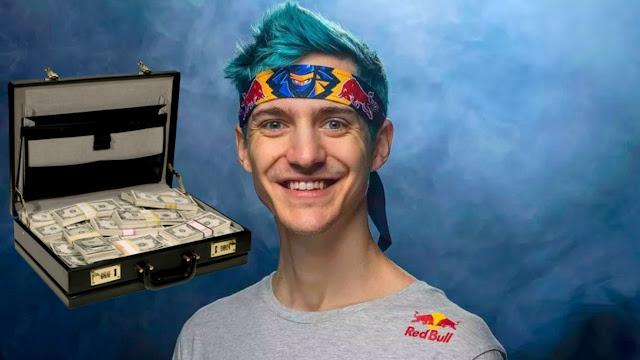 ارباح هذا الشخص 500 الف دولار شهرياً من لعبة فورت نايت