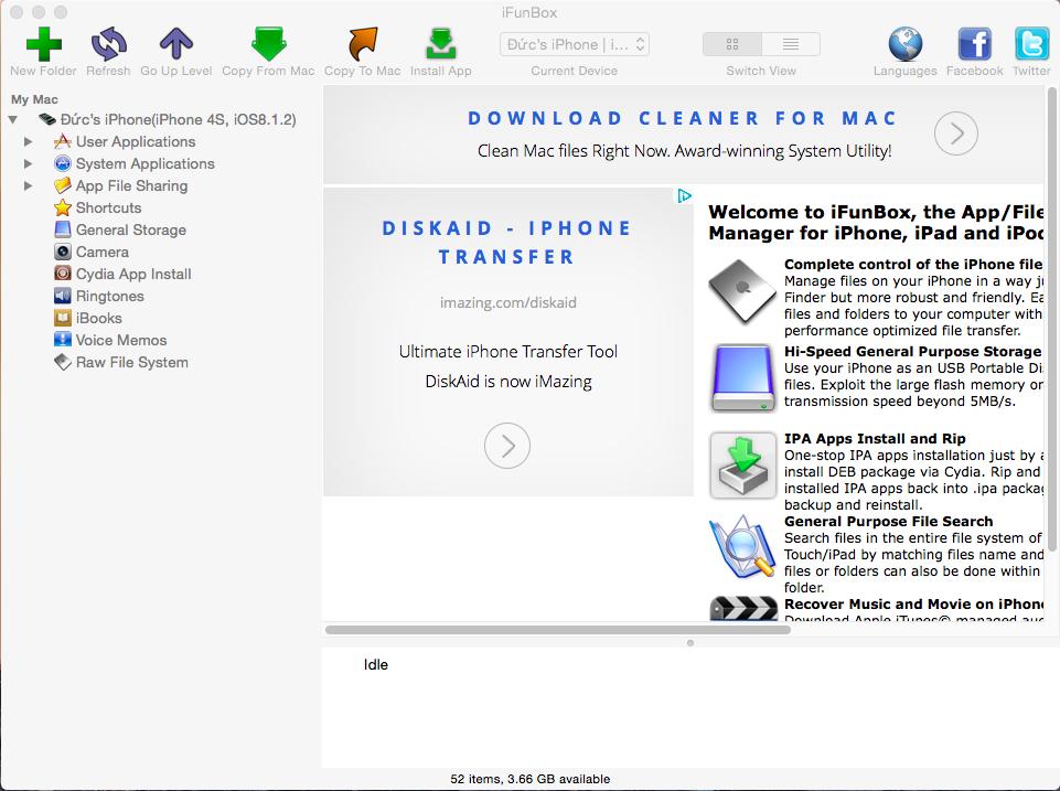 Hướng dẫn cài ứng dụng Cydia từ máy tính ~ tao-den blogspot com