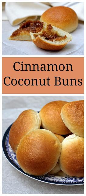 Cinnamon Coconut Buns