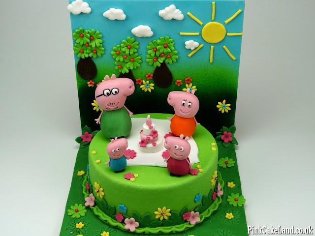 peppa cakes hounslow