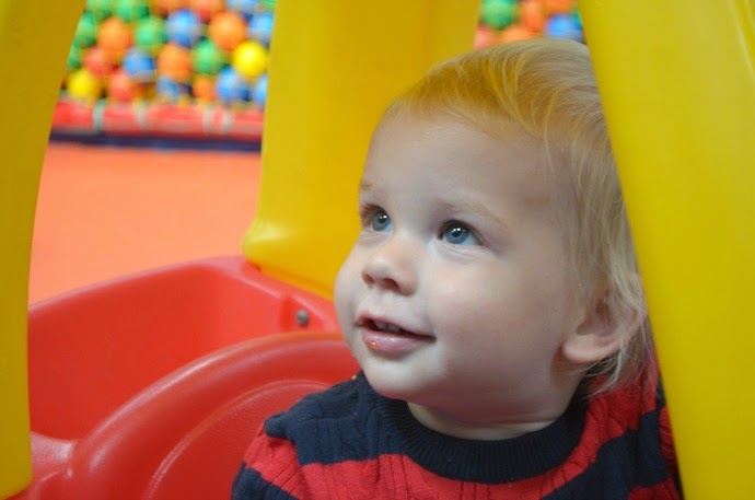soft play, 14 months old