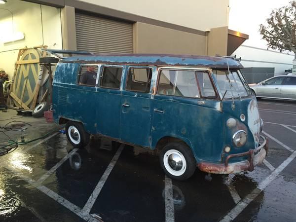 Potential To Restore Vw Bus Kombi 1966 Vw Bus Wagon