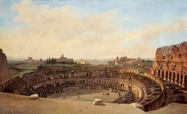 impulso darte Il Colosseo e i suoi ritratti