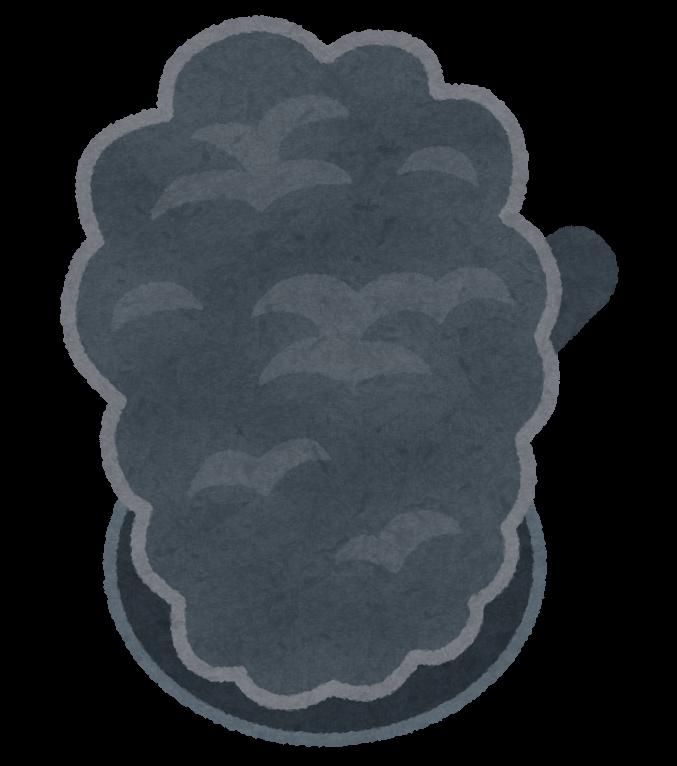 煙が出るフライパンのイラスト かわいいフリー素材集 いらすとや