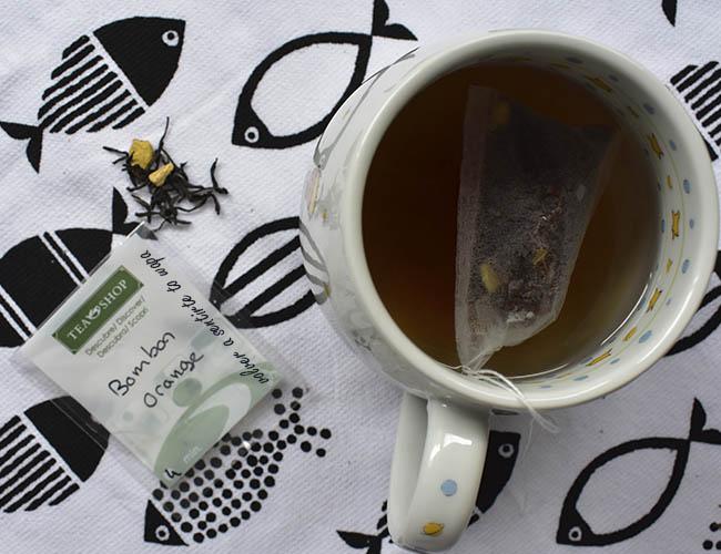 Té Negro Bombón Orange de Tea Shop