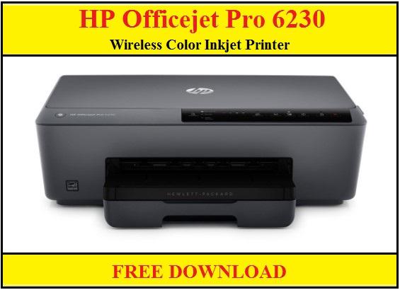 HP Officejet Pro 6230 Wireless Color Inkjet Printer