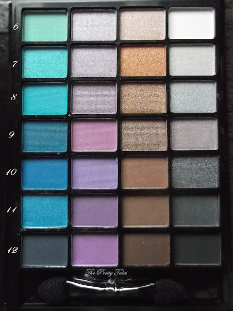 elf little black beauty book night edition eyeshadow palette review
