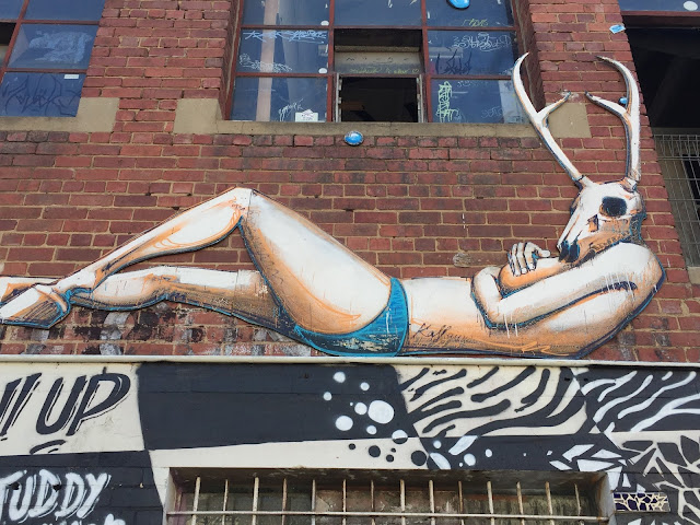 Melbourne- Street art of Coleengwood and Fitzroy