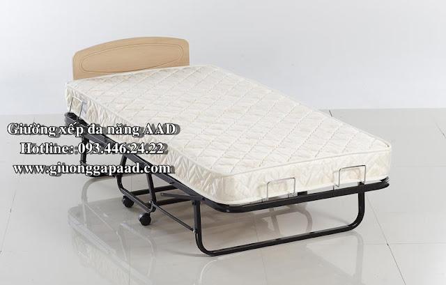giường xếp đa năng, giường gấp xếp đa năng thông minh