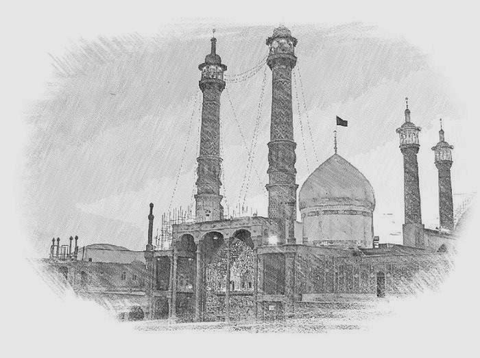 Maula Ali Shrine Wallpaper: Ya Ali (a.s) Aap Ki Sarkar: Islamic Images: Sketch Of The