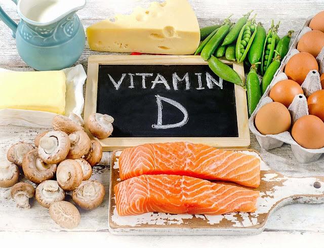 فيتامين د D Vitamin  - وظائفه , مصادره , الامراض المتعلقه والكمية الموصى بها