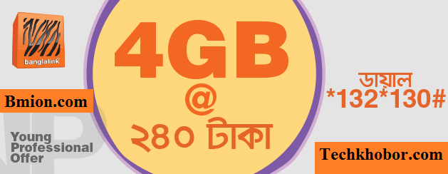 Banglalink-3G-4GB-10Days-240Tk-Young-Professional-Offer
