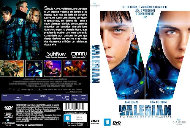 Capa DVD Valerian [Custom]