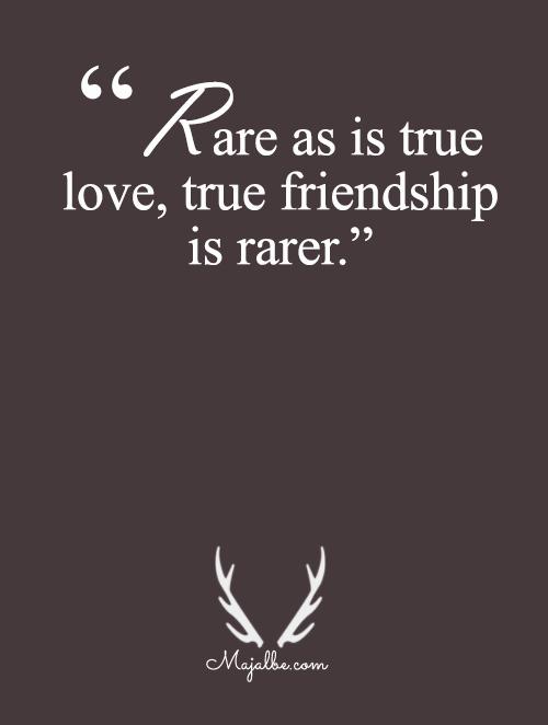 True Love, True Friendship