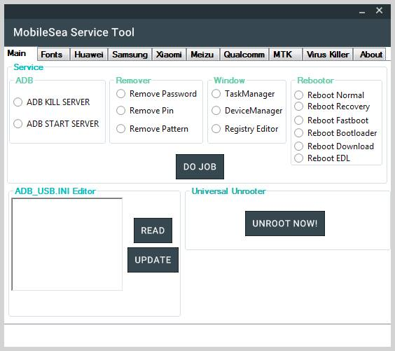 Download MobileSea Service Tool Crack Full Version