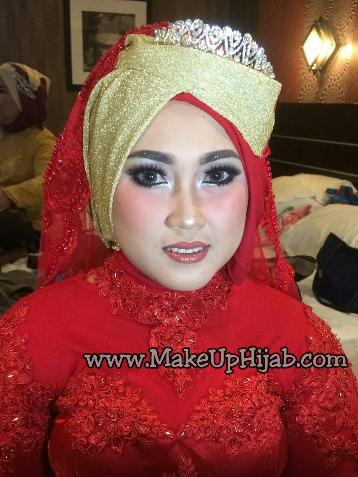 MakeUp Nikah dan Resepsi untuk Melinda Hotel City M Jakarta