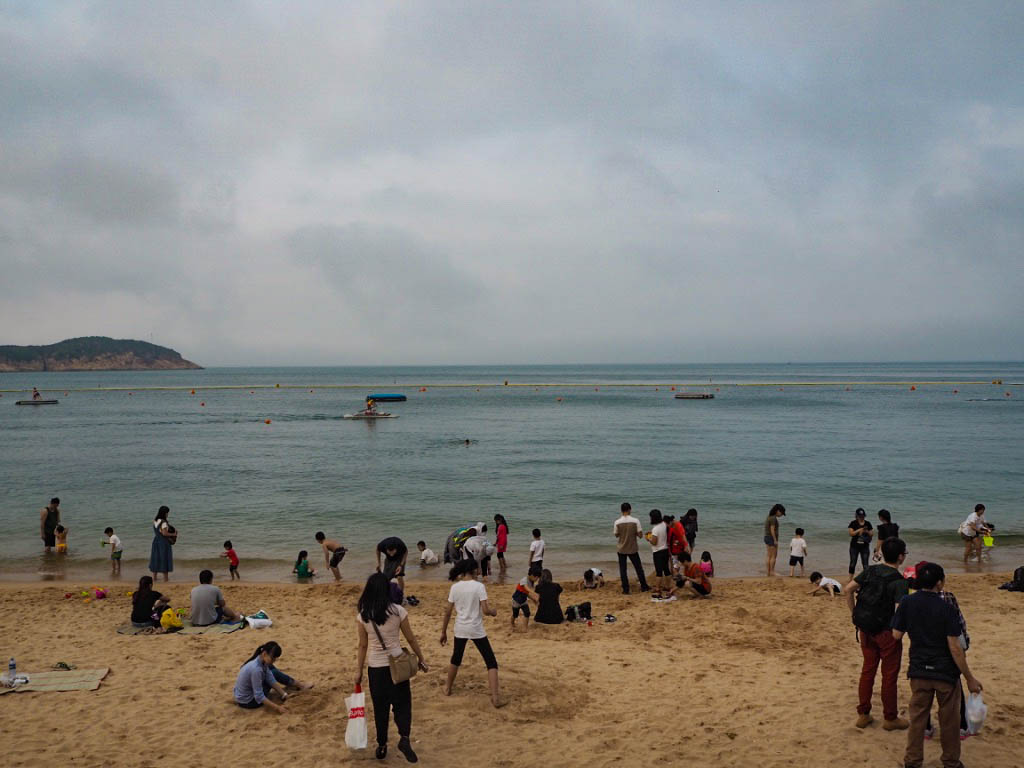 Beach on Cheung Chau island, Hong Kong