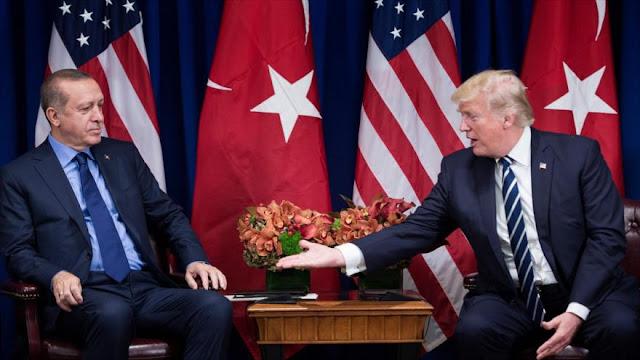 Trump hablará con Erdogan sobre la preocupante ofensiva turca 