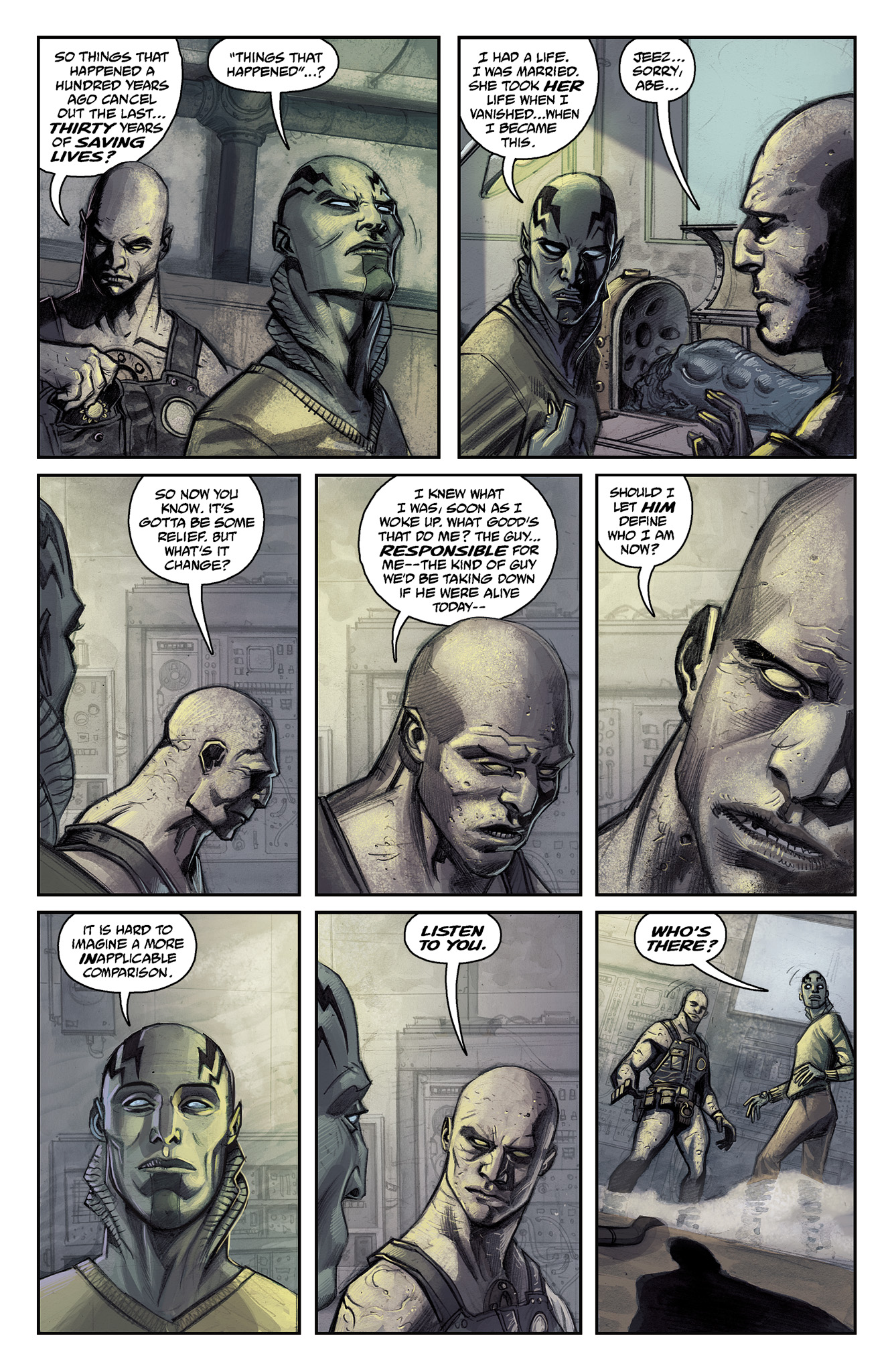 Read online Abe Sapien comic -  Issue #15 - 9