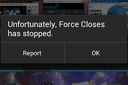 Penyabab Mengapa Aplikasi Android Mendadak Berhenti