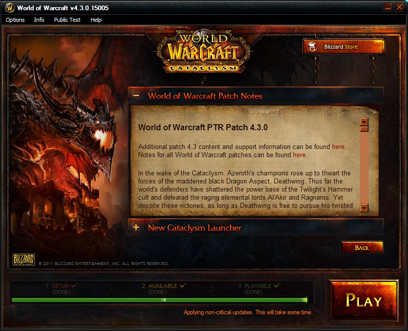 wow cataclysm patch 4.3 4 free download