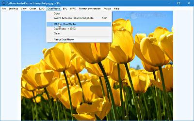 CPix - Logiciel Visionneuse Photos sur Windows