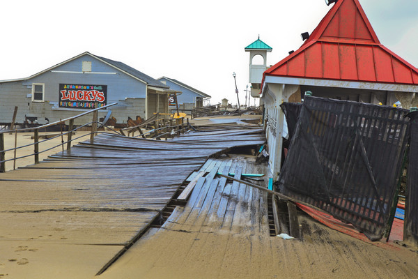 Damaged Boardwalk