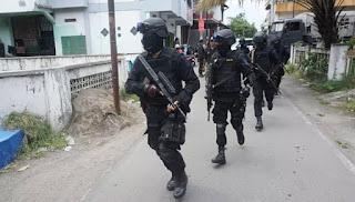 Densus 88 Amankan Terduga Teroris di Gunungkidul