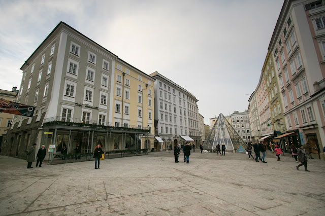 Alter Markt (Piazza del vecchio mercato)-Salisburgo