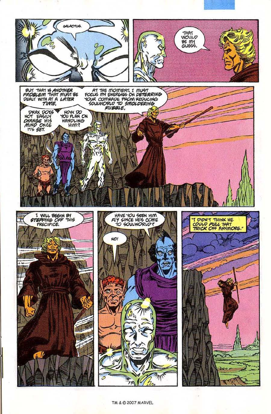 Read online Silver Surfer (1987) comic -  Issue #46 - 29