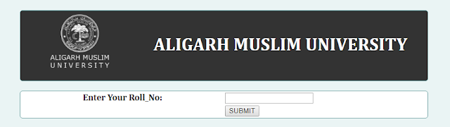 Aligarh Muslim University Results