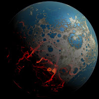 Early Earth, 4 billion years ago