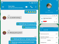BBM MOD Tema Include Fitur v3.3.2.30 Full DP For Android