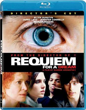Poster Of Requiem for a Dream 2000 English 300MB BRRip 480p ESubs Free Download Watch Online