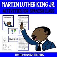 Celebrate Martin Luther King Jr. in Spanish Class