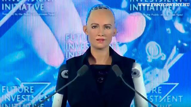 Szaúd-Arábia elsőként adott állampolgárságot egy robotnak