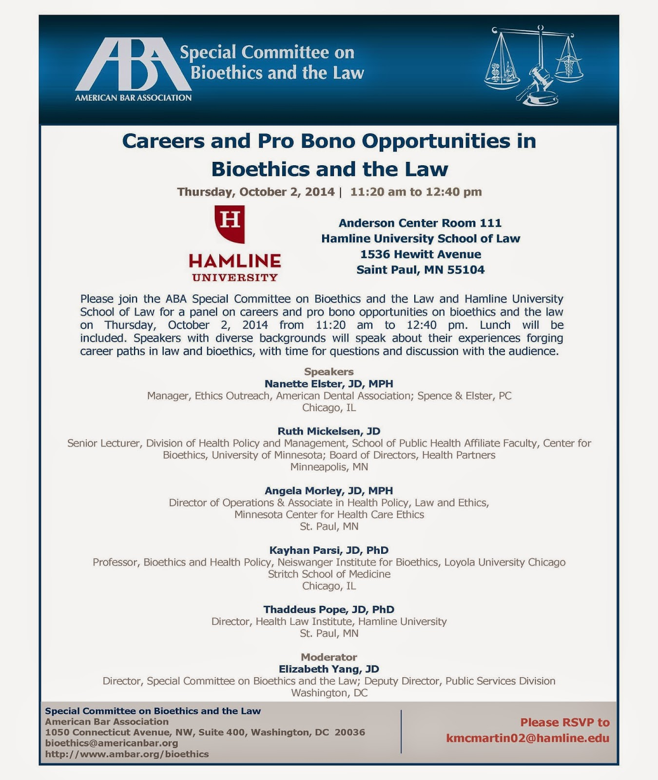 Careers & Pro Bono Opportunities in Bioethics & Law