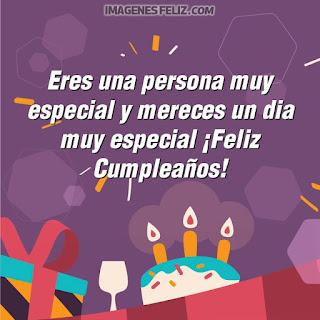 Imágenes feliz cumpleaños amiga especial. Tarjetas con mensajes bellos para muro de Facebook