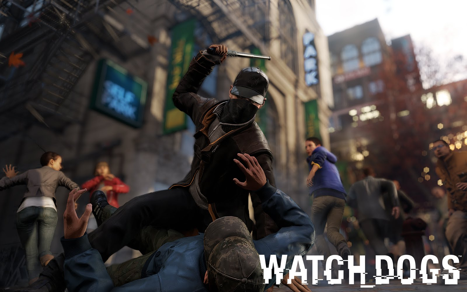 80 Watch Dogs Wallpapers for free downloade haking images