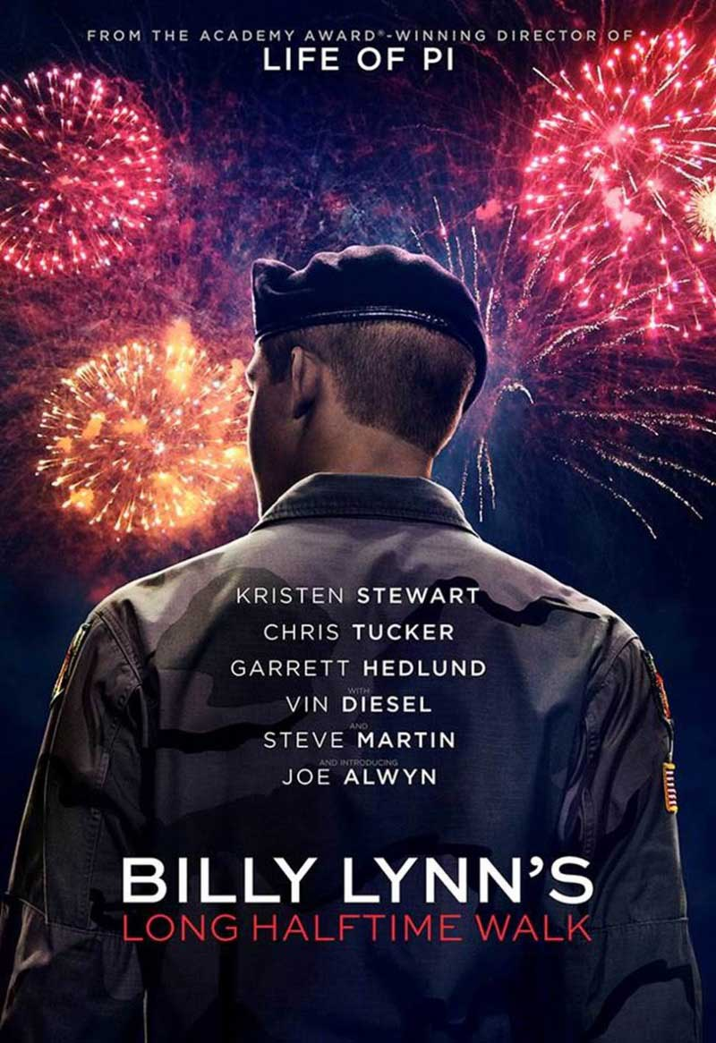 A Longa Caminhada de Billy Lynn Torrent – BluRay 720p e 1080p Dual Áudio