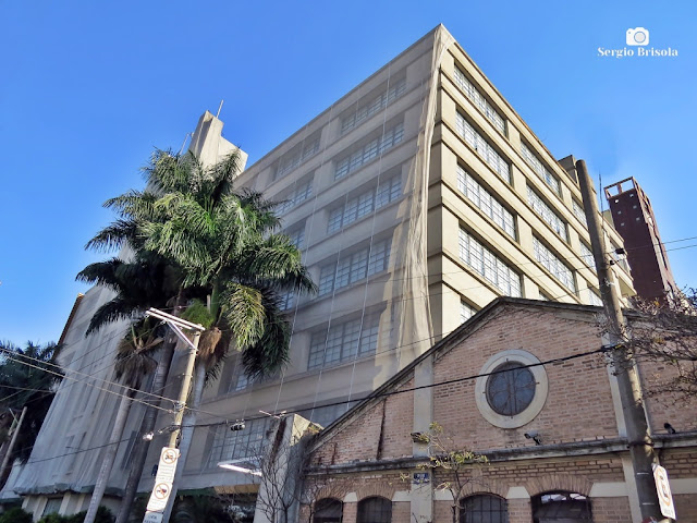 Vista ampla da Antiga Fabrica Alpargatas - Moóca - São Paulo