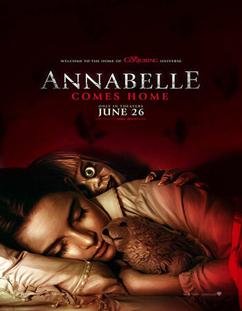 Annabelle Comes Home (2019) Dual Audio Hindi 480p HC HDRip 300MB Movie Download